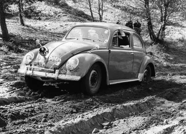 Doug Jennings PCT VW Beetle
