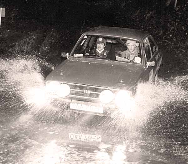 Road Rallying