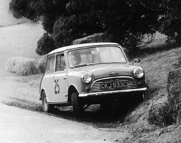 Norman Redhead Mini Cooper Valence Hillclimb