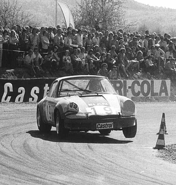 Rod Chapman Porsche Rallycross car