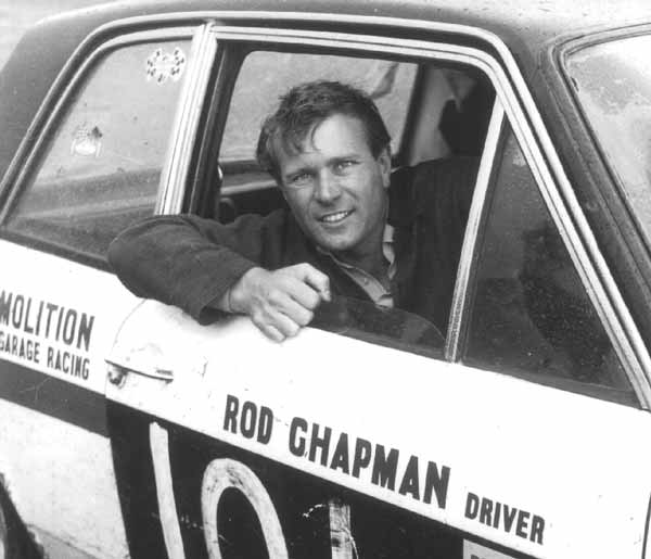 Rod Chapman Portrait