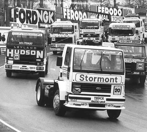 Rod Chapman Truck Racing Champion