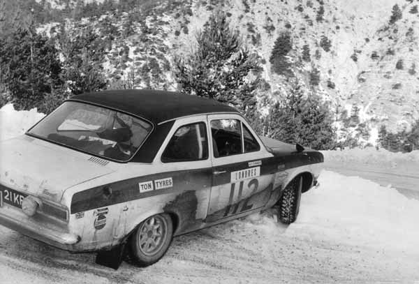 Roy Edwards 21KR on 1969 Monte Carlo Rally