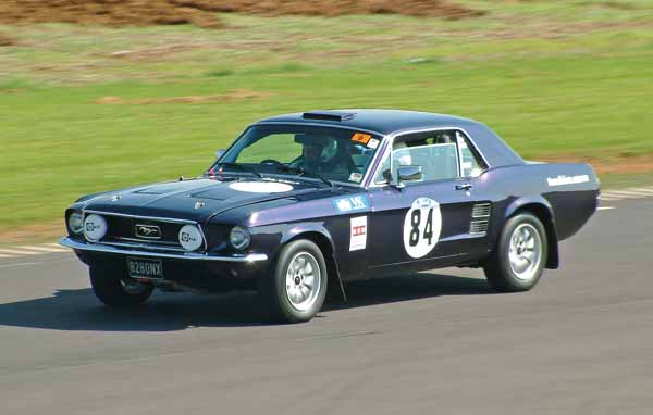Roy Edwards Ford Mustang rally car