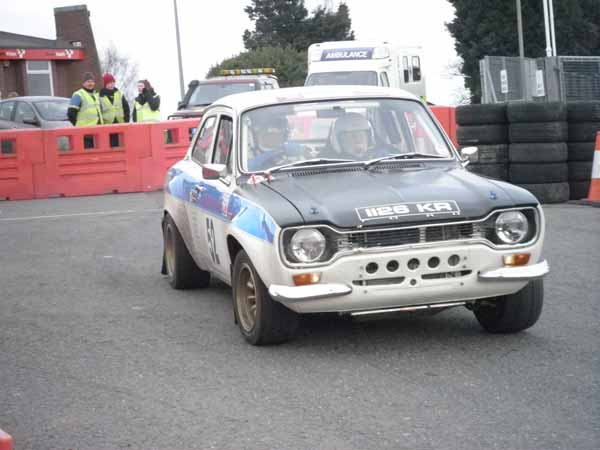 Roy Edwards Mk1 Escort Brands Hatch rally