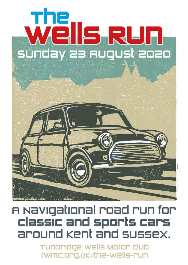 The Wells Run 2020 illustration